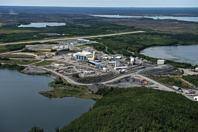 Goldcorp's Musselwhite mine in northern Ontario is evaluating several projects to improve ventilation and remove production bottlenecks.