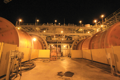 Metallurgists at the Peñasquito mill (above) recently devised a strategy to enrich concentrate