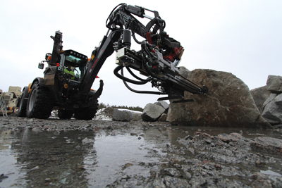 TEI Rock Drills claims that the new TE1000 is the shortest and lowest-profile drifter in its power class.