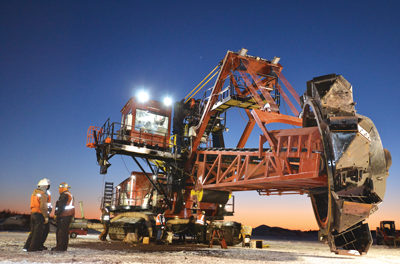 L&H Industrial Rebuilds Taconite Reclaimer