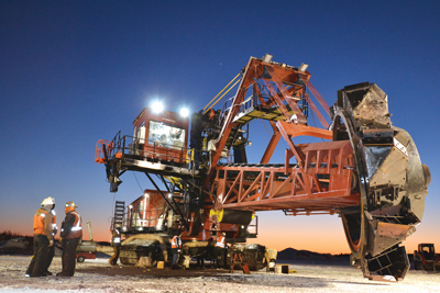 Another first for L&H Industrial, the company recently restored this 50-year-old bucket-wheel reclaimer.