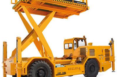 Scissor Lift for Underground Mine Maintenance