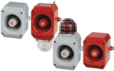 Powerful Warning Horn for Hazardous Locations