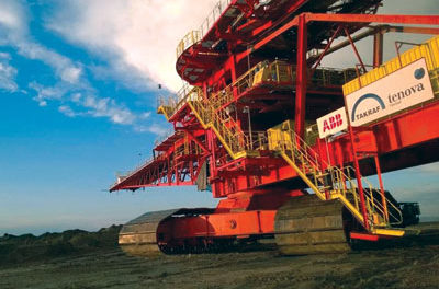 TAKRAF Installs Asia's Largest BWE at Chinese Mine