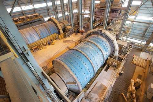 Energy-efficient ball mills are at the heart of the Morenci mill expansion.
