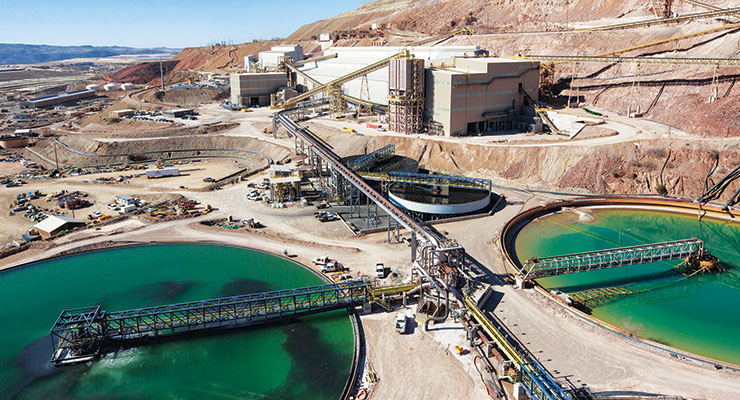 Freeport-McMoRan invested $1.6 billion to upgrade the Metcalf mill at the Morenci mine site in southeastern Arizona.