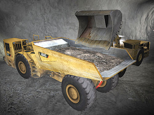 Immersive Technologies' mine truck simulator conversion kits cover models from the top suppliers, including Atlas Copco, Cat and Sandvik.