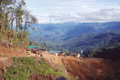 The Crater Mountain gold project is in Papua New Guinea's Eastern Highlands province, 50 km from Goroka.