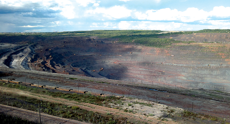 Two mines, the Artyom mine (above) and the Prokhodcheskaya mine, produce 24 million mt/y of ore for ArcelorMittal's Kryvyi Rih unit.
