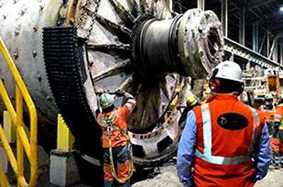 Chuquicamata's Massive Mill Maintenance Project