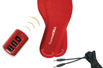 Battery-powered, Heated Insoles Keep Feet Warm