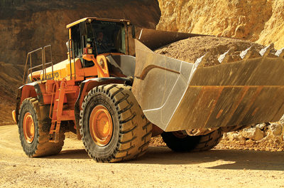 Loader Tire Carries More Weight, Lasts Longer