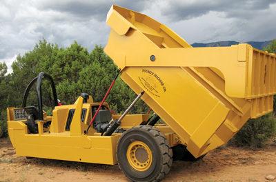 Unique Narrow-vein Mining Haulage Equipment