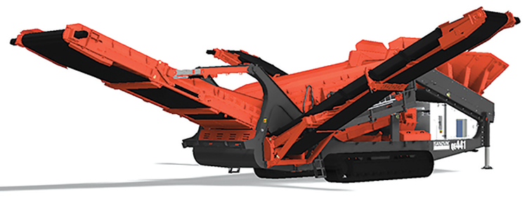 Sandvik's new QE441 scalper screen has many updated features compared with its predecessor, the QE440.