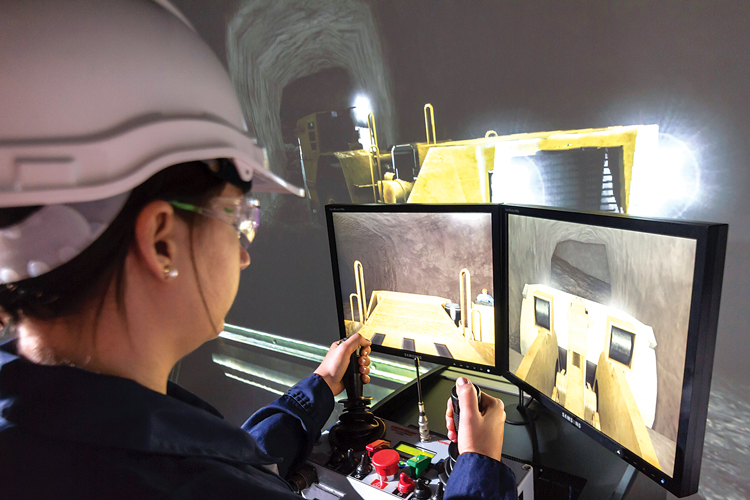 Immersive Technologies recently delivered an advanced underground loader simulator system to a mining operation in Kazakhstan, integrated with an RCT ControlMaster CM2000D line-of-sight remote-control system.