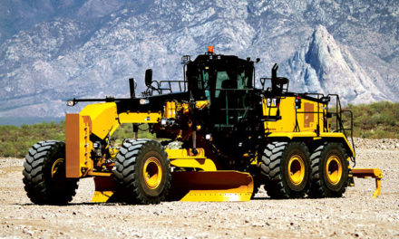 Motor Grader Made for Mine Road Maintenance