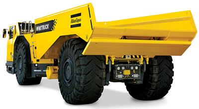 Underground Truck Offers Wider Engine Options