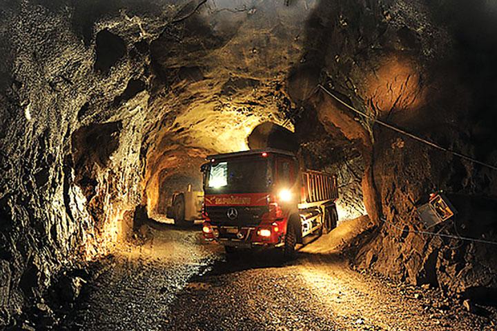 Loading ore underground at Kittila. (Photo: Agnico Eagle)