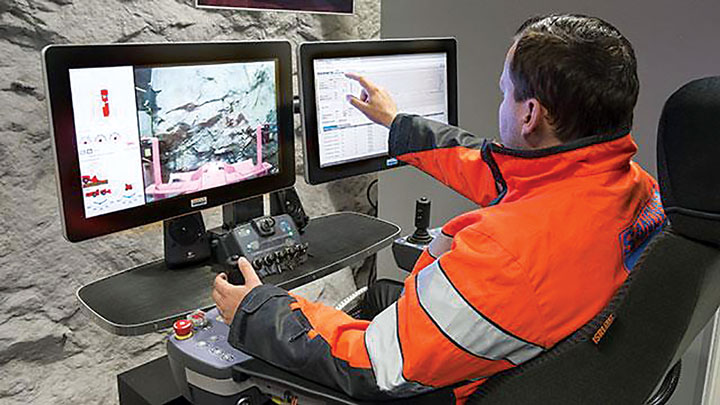 Mines are seeing higher productivity and lower operating costs with automation.