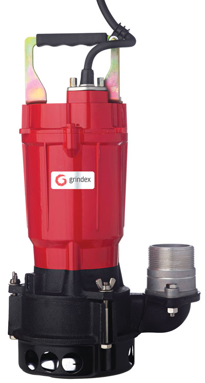 The Grindex Primo submersible pump.