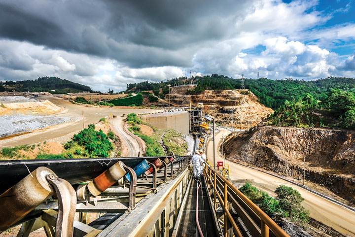 Formerly known as the Rosario mine, Barrick Gold Corp. and Goldcorp jointly procured the property and formed PVDC in 2006.