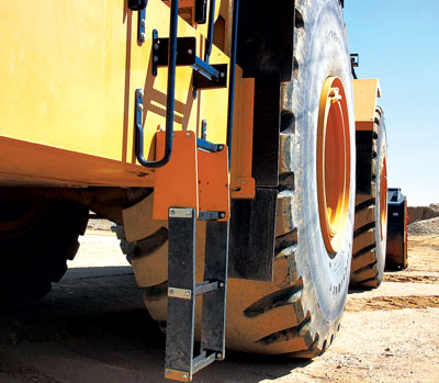 Application matters: Bearings on large wheel loaders, for example, may be subject to much different stress demands than bearings on a large haul truck.