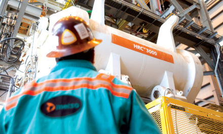 Metso Reports on Industry's Largest HPGR at Morenci Copper