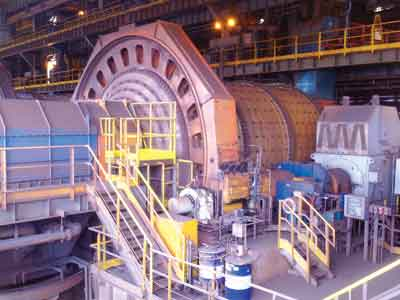 Vale has installed 22 ball mills at its mines in Minas Gerais.