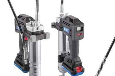 Battery-driven Grease Gun Makes Maintenance Easier