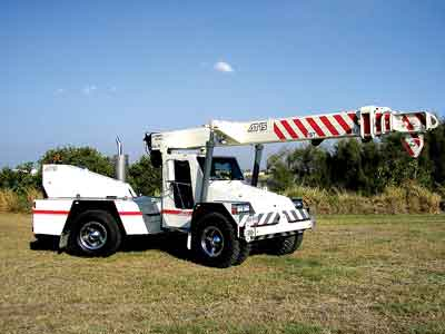 Terex claims that its AT-15 pick-and-carry crane offers a new level of versatility.