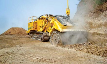 A New Approach to Building Haul Roads