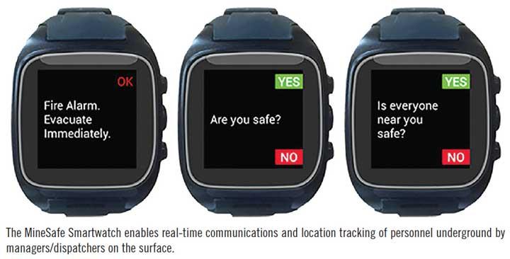 MineSafe Smartwatch