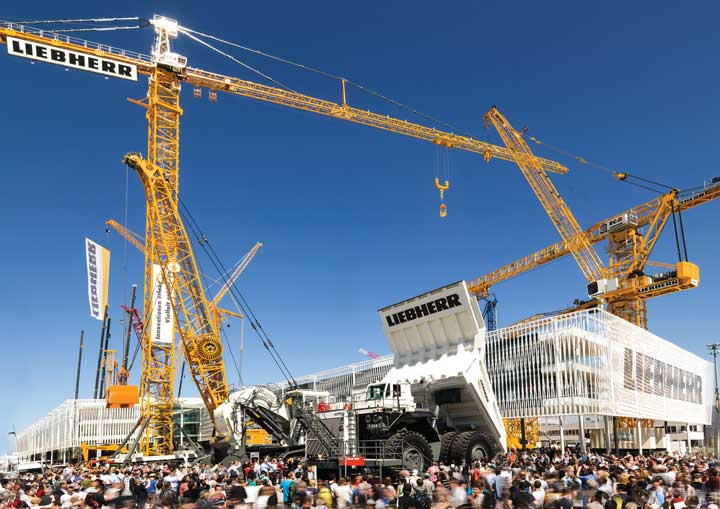 More than 535,000 turned out for bauma 2013. The event, billed as the largest machinery trade show, takes place again in April.