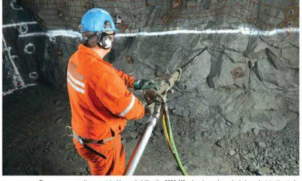 Boart Longyear's Newest Jackleg Tops On-the-job Drill Comparison Test