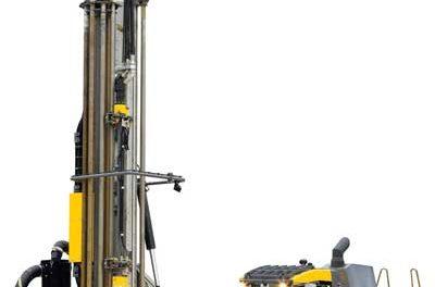 Versatile Crawler-mounted DTH Rig