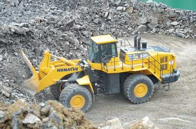 Wheel Loader Features Larger Bucket, Lower Fuel Consumption