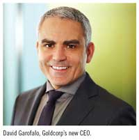 David Garofalo, Goldcorp's new CEO.
