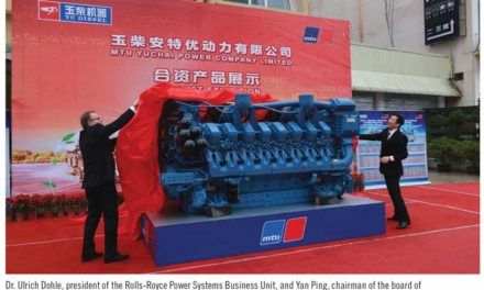 MTU Licenses Chinese Firm to Build, Sell 4000 Series Diesel Engines