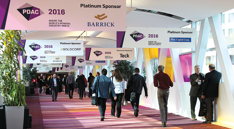 Despite current industry challenges, more than 22,000 people attended the annual PDAC conference in Toronto during March.