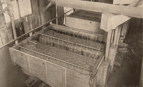 Callow flotation process installed at the Anaconda's remodeled concentrator (October 9, 1915).