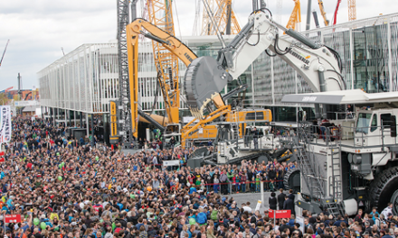 Bauma Attracts Record Numbers