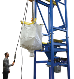 Unload Heavy Bulk Bags Quickly, Safely