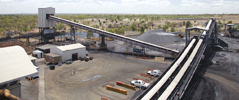 At full capacity, the longwall at Grosvenor is expected to produce 7.5 million mt/y.