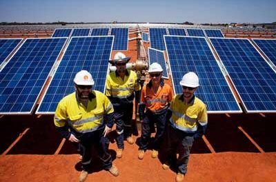 Sandfire Commissions Solar Power Plant in Western Australia