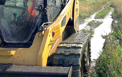 Skid Steer Track Kits Improve Mobility