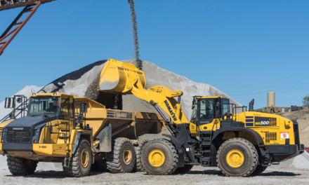 Midsized Loader Has Payload and Fuel Efficiency Improvements