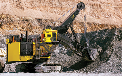 In the four years since the last MINExpo, Joy Global has developed new technology for surface and under- ground mining.