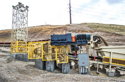 In addition to a new crusher and screening machine, Superior will display its full line of conveyor equipment.