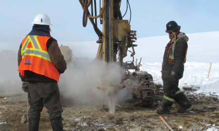 Peregrine Considering Open-pit Diamond Mining on Baffin Island