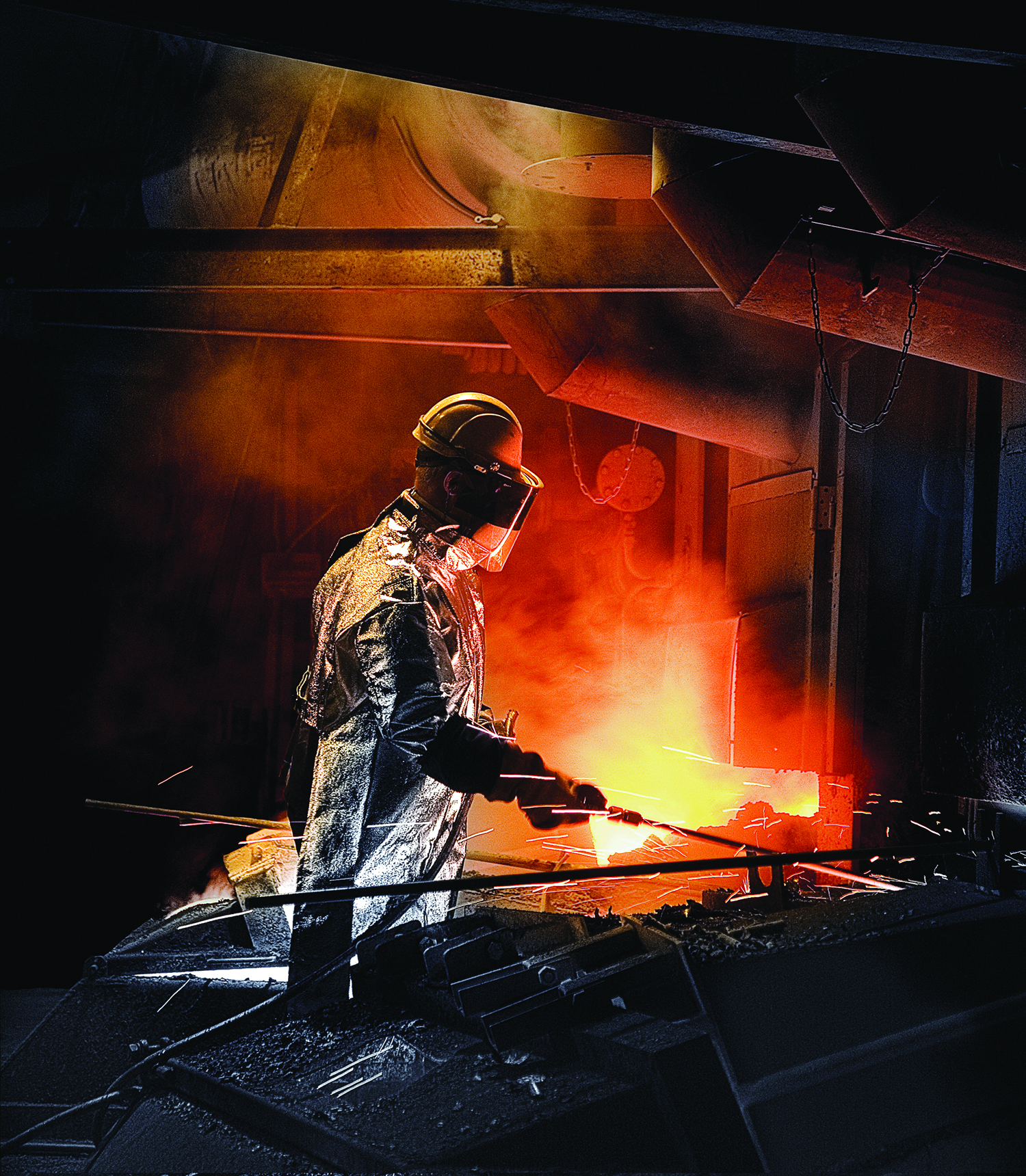 Flash smelting at Harjavalta in Finland, where Boliden has adopted a new business model for nickel smelting.